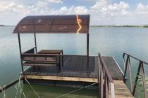 Понтон для отдыха на воде