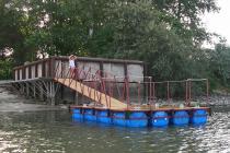 Понтон  для купания Елизаветинская